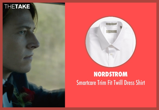 Nordstrom white shirt from The Best of Me seen with Luke Bracey (Young Dawson)