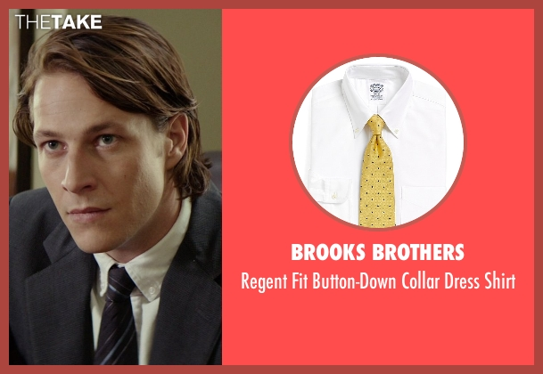 Brooks Brothers white shirt from The Best of Me seen with Luke Bracey (Younger Dawson)