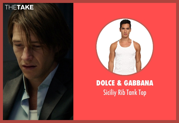 Dolce & Gabbana white top from The Best of Me seen with Luke Bracey (Younger Dawson)