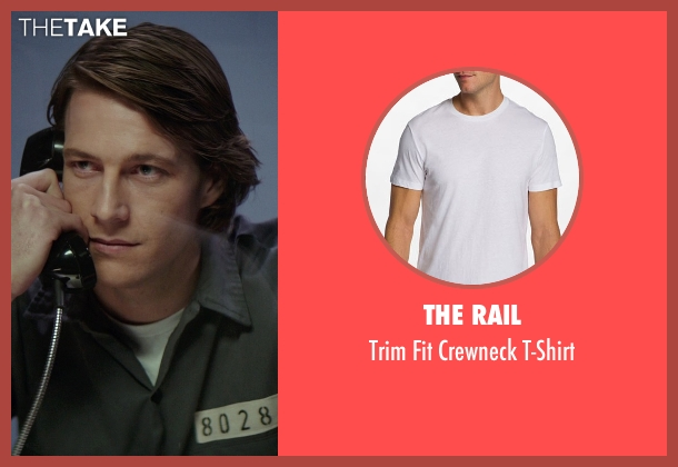 The Rail white t-shirt from The Best of Me seen with Luke Bracey (Younger Dawson)