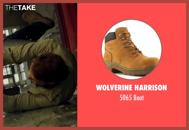 Wolverine Harrison beige boot from The November Man seen with Luke Bracey (David Mason)