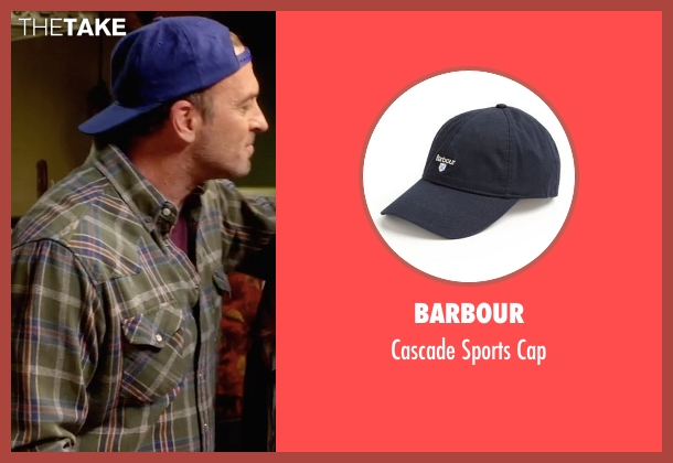 Barbour blue cap from Gilmore Girls: A Year in the Life seen with Luke Danes (Scott Patterson)