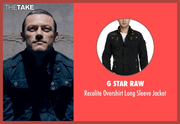 G Star RAW black jacket from Fast & Furious 6 seen with Luke Evans (Deckard Shaw)