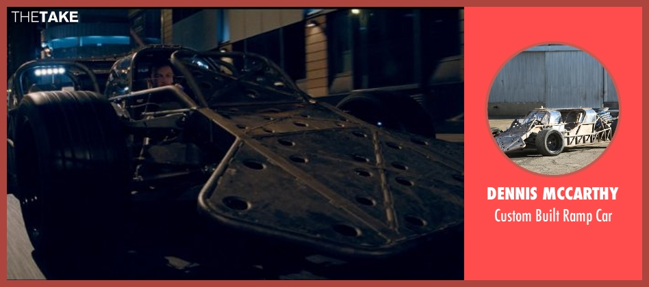 Dennis McCarthy car from Fast & Furious 6 seen with Luke Evans (Deckard Shaw)