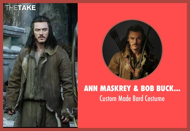 Ann Maskrey & Bob Buck (Costume Designer) costume from The Hobbit: The Battle of The Five Armies seen with Luke Evans (Bard)