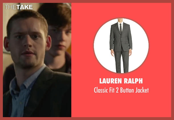 Lauren Ralph gray jacket from Max seen with Luke Kleintank (Tyler)