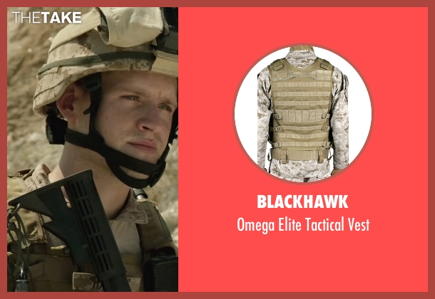 BlackHawk vest from Max seen with Luke Kleintank (Tyler)