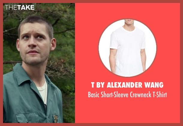 T by Alexander Wang	 white t-shirt from Max seen with Luke Kleintank (Tyler)