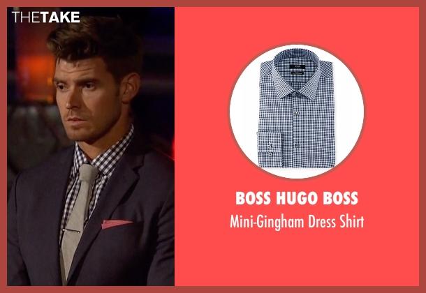 Boss Hugo Boss blue shirt from The Bachelorette seen with Luke