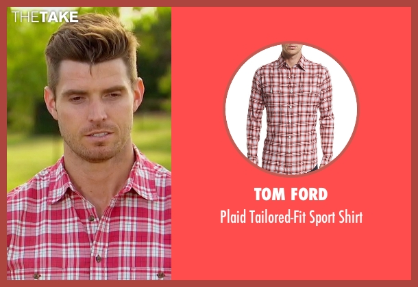 Tom Ford red shirt from The Bachelorette seen with Luke