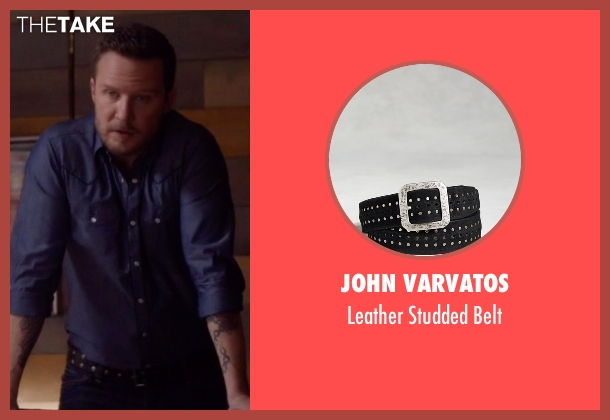 John Varvatos black belt from Nashville seen with Luke Wheeler (Will Chase)