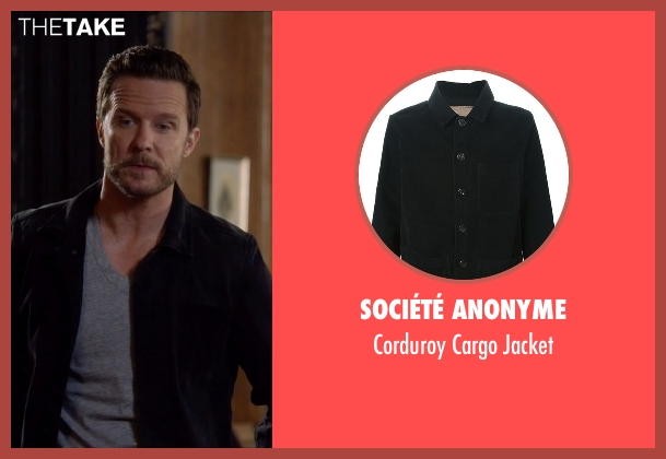 Société Anonyme black jacket from Nashville seen with Luke Wheeler (Will Chase)