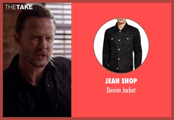 Jean Shop black jacket from Nashville seen with Luke Wheeler (Will Chase)