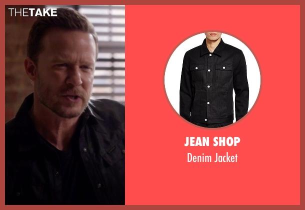 Jean Shop black jacket from Nashville seen with Luke Wheeler (Will Chase)