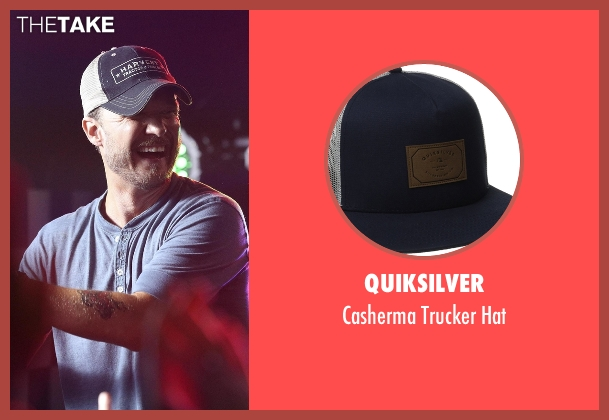 Quiksilver blue hat from Nashville seen with Luke Wheeler (Will Chase)