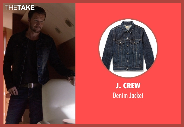 J. Crew blue jacket from Nashville seen with Luke Wheeler (Will Chase)
