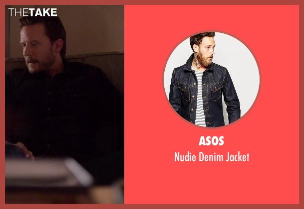 Asos blue jacket from Nashville seen with Luke Wheeler (Will Chase)