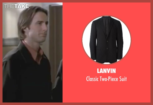 Lanvin black suit from Legally Blonde seen with Luke Wilson (Emmett)