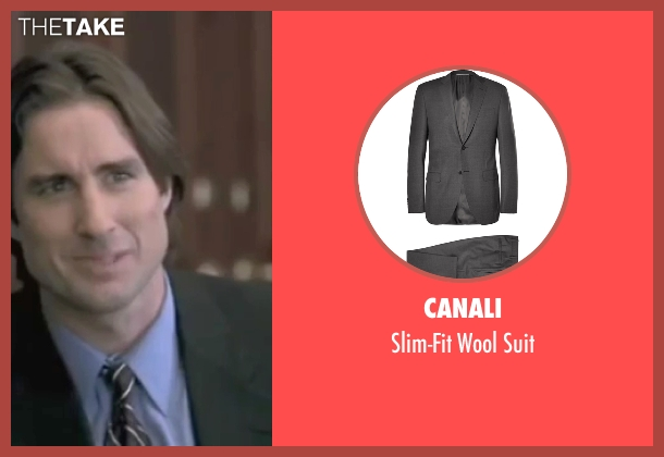 Canali gray suit from Legally Blonde seen with Luke Wilson (Emmett)