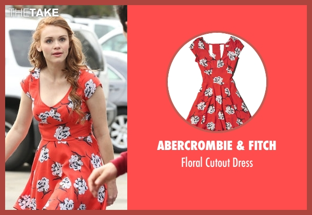 Abercrombie & Fitch red dress from Teen Wolf seen with Lydia Martin (Holland Roden)