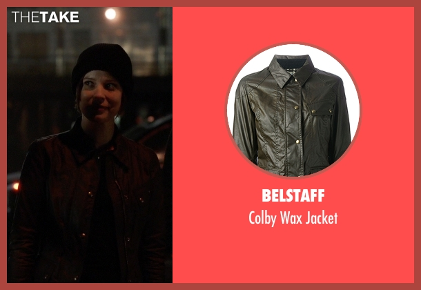 Belstaff green jacket from The Flash seen with Lyla Michaels (Audrey Marie Anderson)