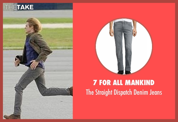 7 For All Mankind gray jeans from MacGyver seen with MacGyver (Lucas Till)