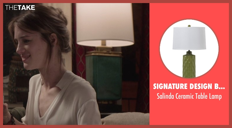 Signature Design by Ashley lamp from That Awkward Moment seen with Mackenzie Davis (Chelsea)