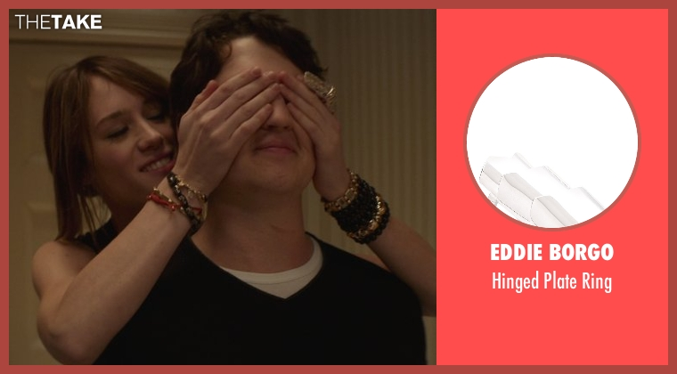Eddie Borgo silver ring from That Awkward Moment seen with Mackenzie Davis (Chelsea)