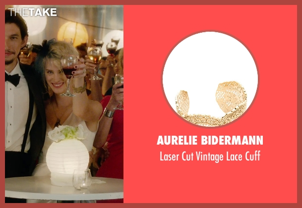 Aurelie Bidermann gold cuff from What If seen with Mackenzie Davis (Nicole)