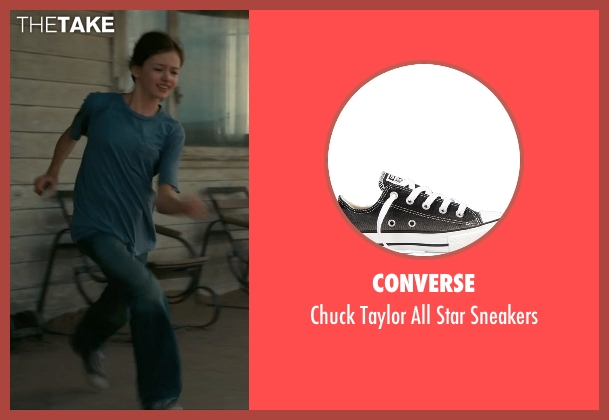 Converse black sneakers from Interstellar seen with Mackenzie Foy (Young Murph)