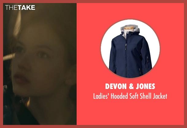 Devon & Jones blue jacket from Interstellar seen with Mackenzie Foy (Young Murph)
