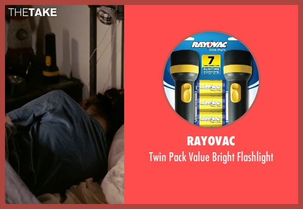 Rayovac flashlight from Interstellar seen with Mackenzie Foy (Young Murph)