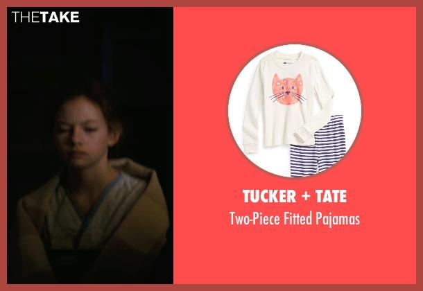 Tucker + Tate white pajamas from Interstellar seen with Mackenzie Foy (Young Murph)