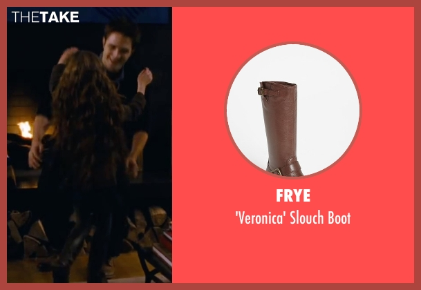 Frye brown boot from The Twilight Saga: Breaking Dawn - Part 2 seen with Mackenzie Foy (Renesmee)