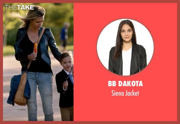BB Dakota black jacket from The Mick seen with Mackenzie Murphy (Kaitlin Olson)