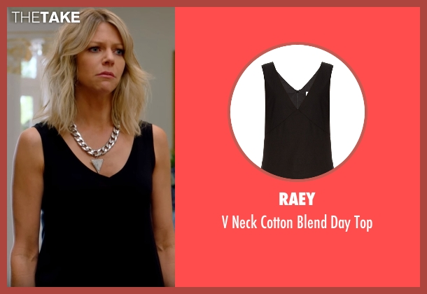 Raey  black top from The Mick seen with Mackenzie Murphy (Kaitlin Olson)