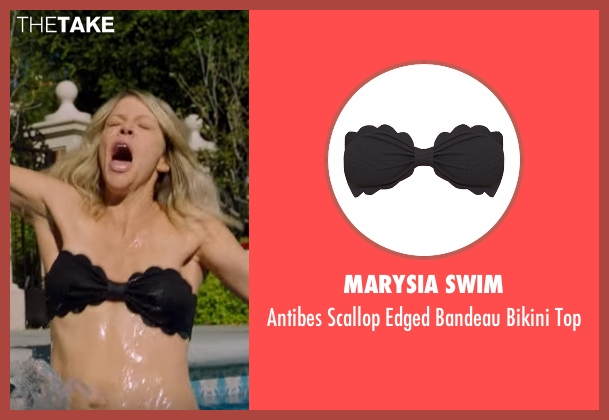Marysia Swim black top from The Mick seen with Mackenzie Murphy (Kaitlin Olson)