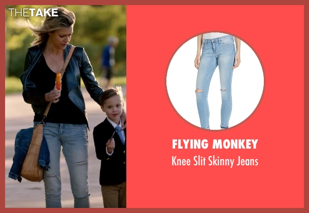 Flying Monkey blue jeans from The Mick seen with Mackenzie Murphy (Kaitlin Olson)