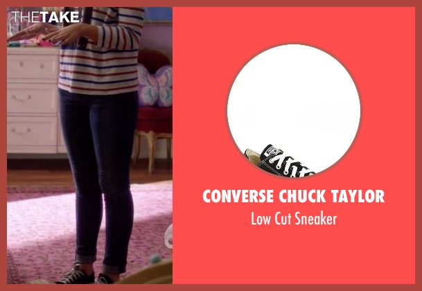 Converse Chuck Taylor black sneaker from Nashville seen with Maddie Conrad (Lennon Stella)