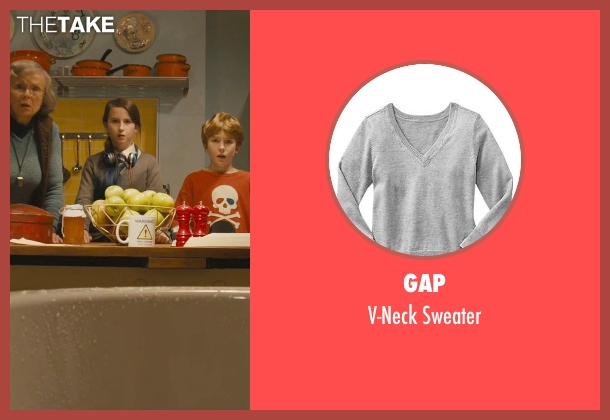 Gap gray sweater from Paddington seen with Madeleine Harris (Judy Brown)
