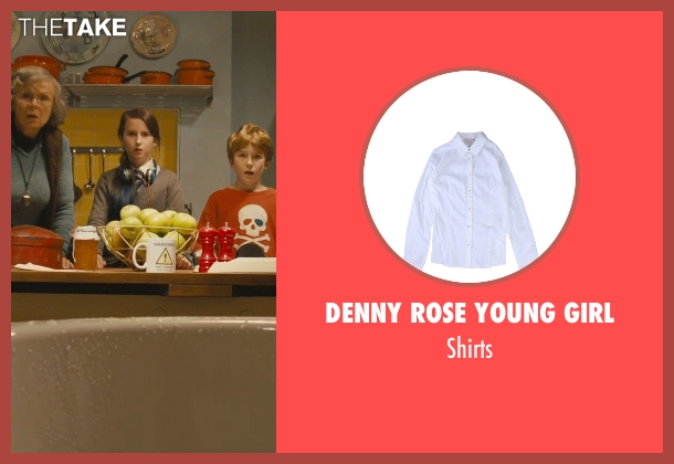 Denny Rose Young Girl white shirts from Paddington seen with Madeleine Harris (Judy Brown)
