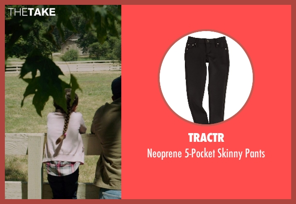 Tractr black pants from American Sniper seen with Madeleine McGraw (McKenna)