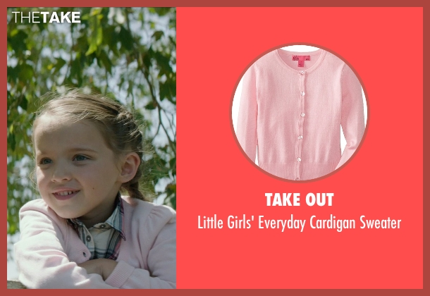 Take Out pink sweater from American Sniper seen with Madeleine McGraw (McKenna)