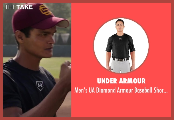 Under Armour black baselayer from Million Dollar Arm seen with Madhur Mittal (Dinesh)
