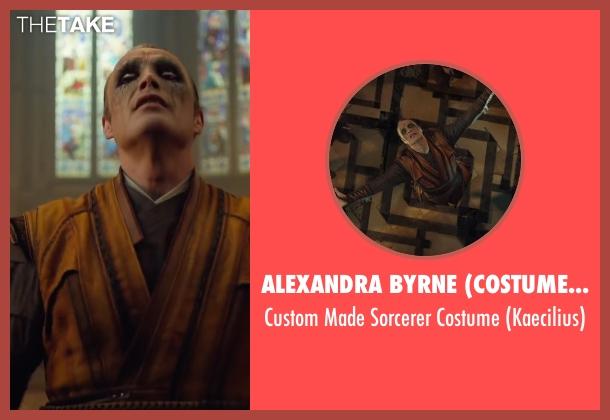 Alexandra Byrne (Costume Designer) costume from Doctor Strange seen with Mads Mikkelsen (Kaecilius)