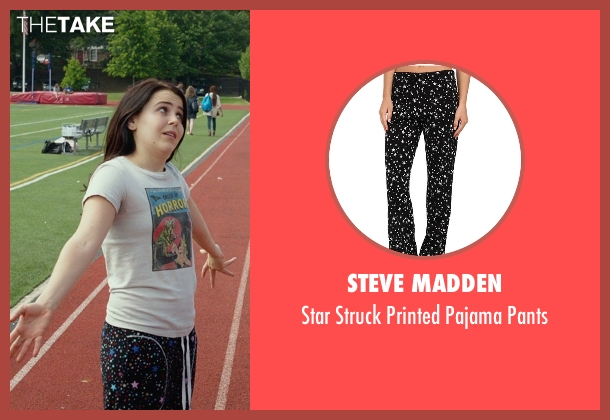 Steve Madden black pants from The DUFF seen with Mae Whitman (Bianca)