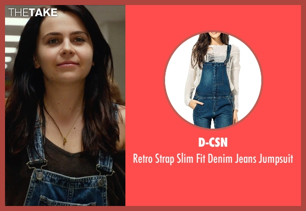D-CSN blue jumpsuit from The DUFF seen with Mae Whitman (Bianca)