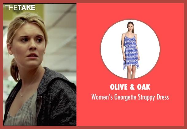 Olive & Oak dress from Taken 3 seen with Maggie Grace (Kim)