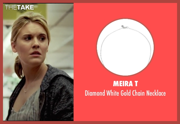 Meira T silver necklace from Taken 3 seen with Maggie Grace (Kim)