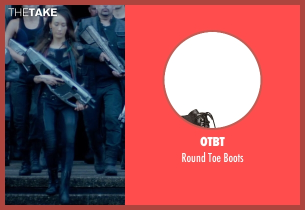 OTBT black boots from The Divergent Series: Insurgent seen with Maggie Q (Tori Wu)